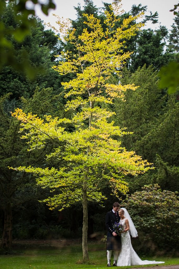 Autumn Gilmorton House Wedding