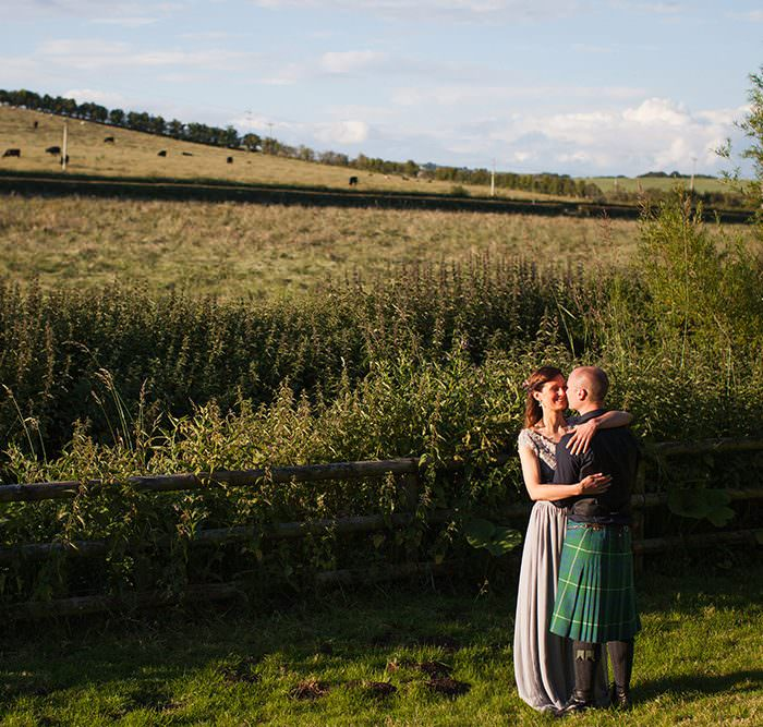 Edinburgh Wedding Photographer || Dalduff Farm Wedding || Leah & Greg