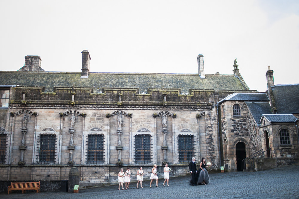 Stirling Castle Wedding