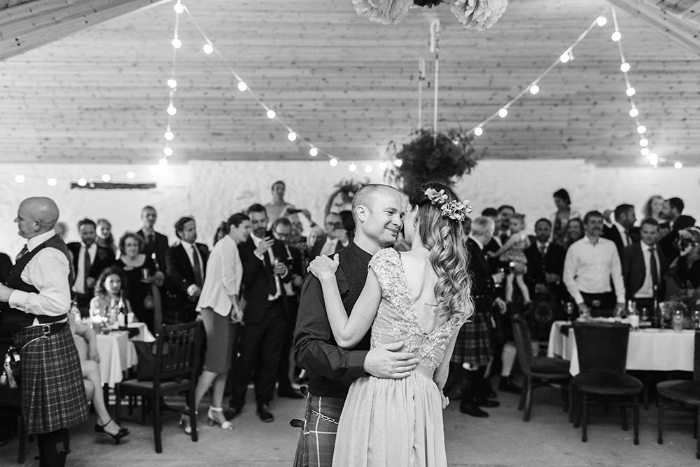 Dalduff Farm Reception| Lauren McGlynn