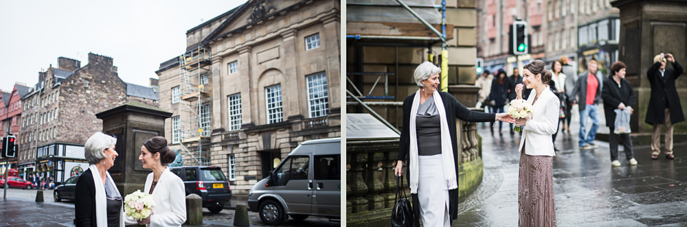 reportage style wedding photography Edinburgh