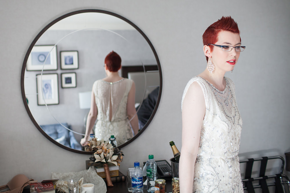 nerdy scottish bride