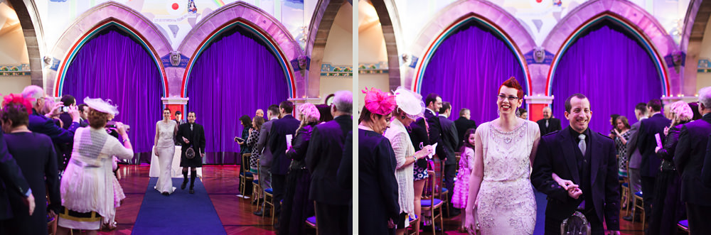 Oran Mor wedding ceremony