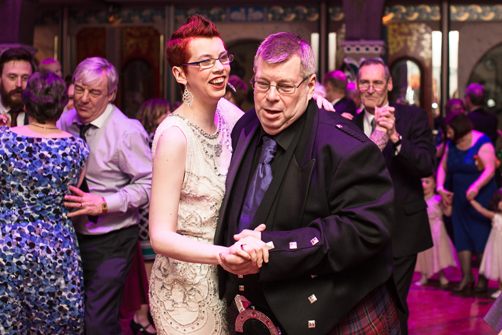 Wedding Reception at Oran Mor Glasgow