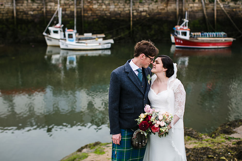 kinkell byre St Andrews wedding