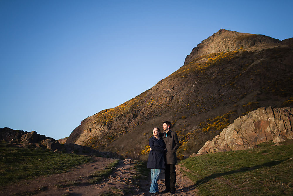 hollyrood park engagement shoot