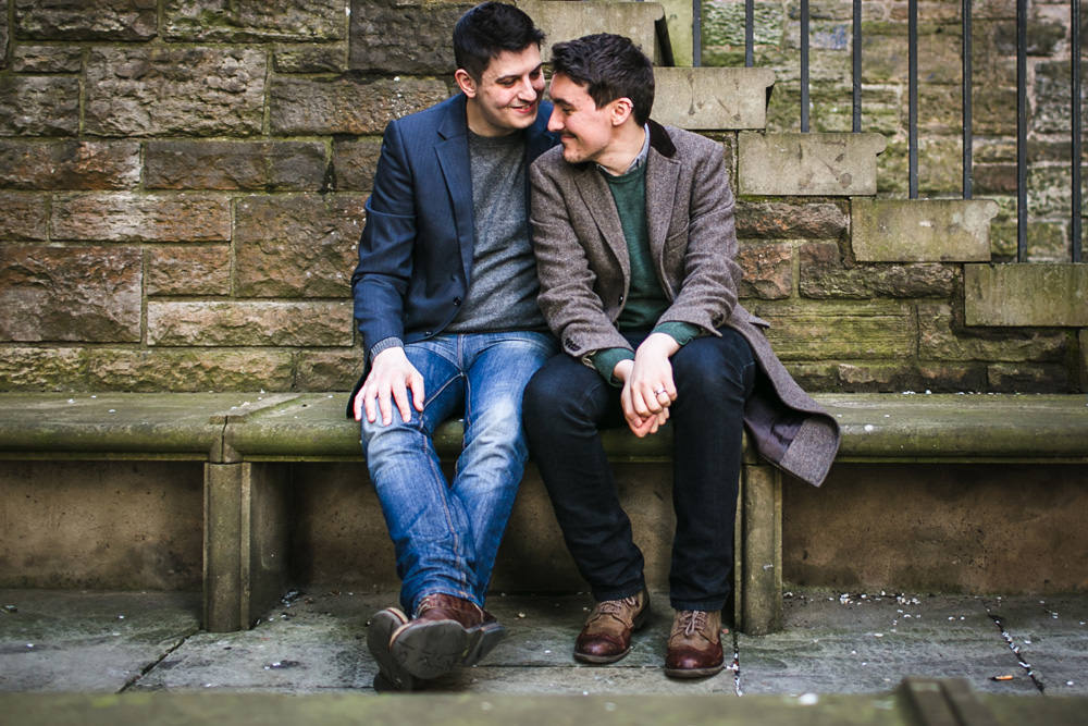 lgbtq friendly wedding photographer edinburgh