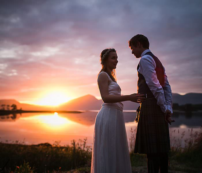 Appin Wedding || West Scotland Wedding Photographer || Magda & Finn: A Preview