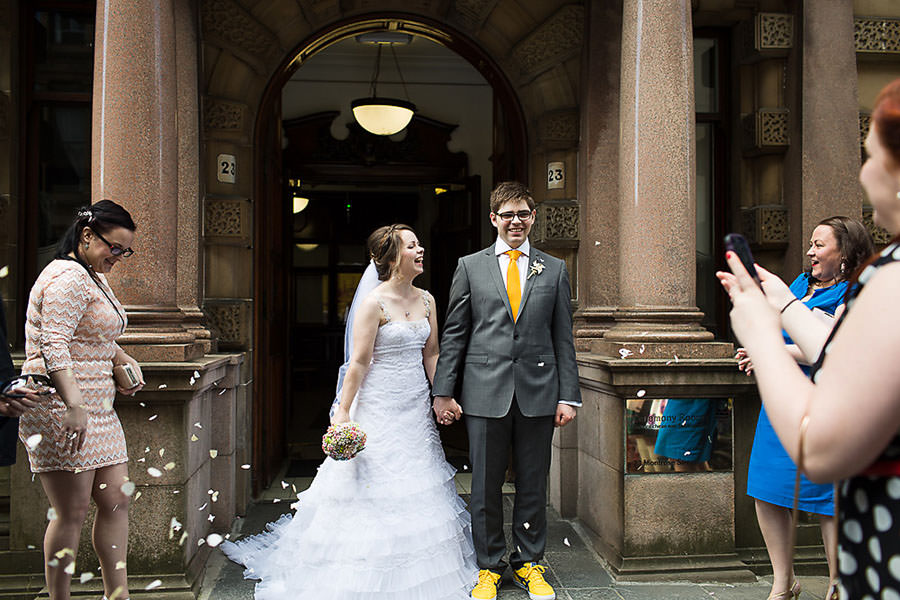registry office glasgow wedding