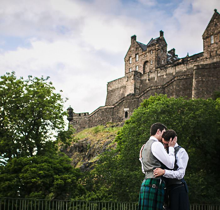 Timberyard Wedding, Edinburgh || Edinburgh Wedding Photographer || John & Daniel: A Preview