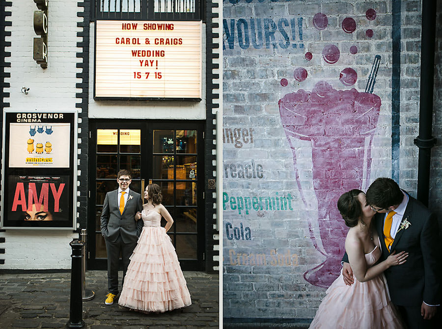 quirky wedding photography glasgow