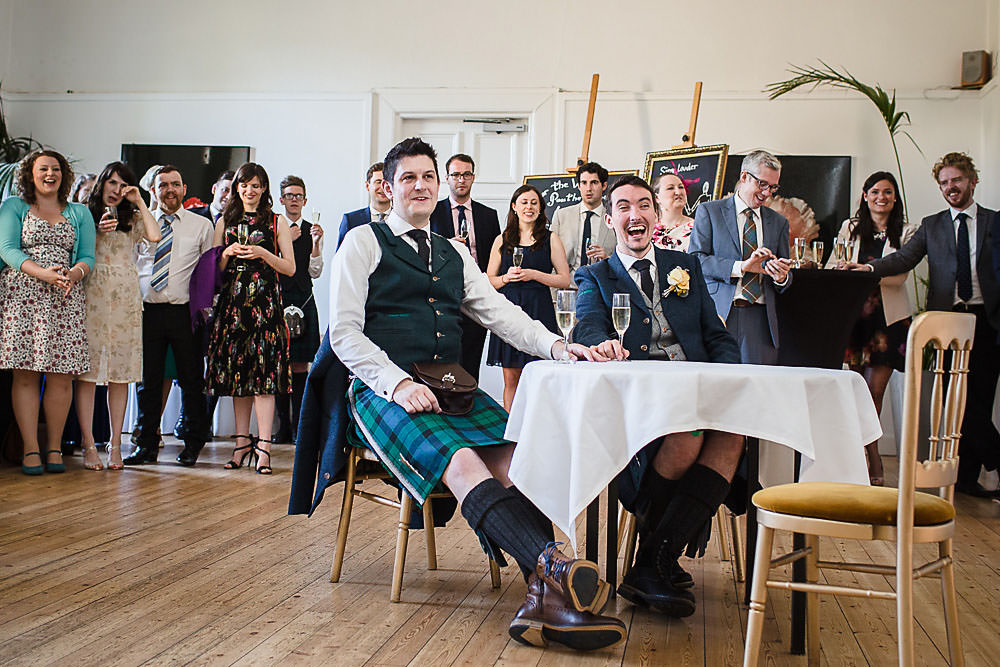 candid wedding photographer edinburgh