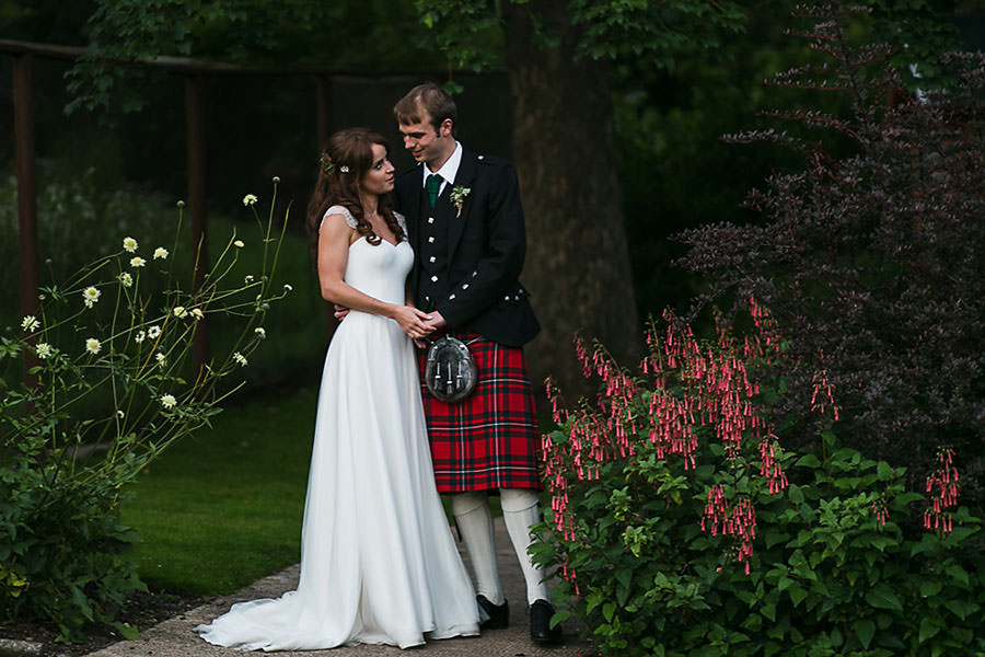 Edinburgh Zoo Wedding
