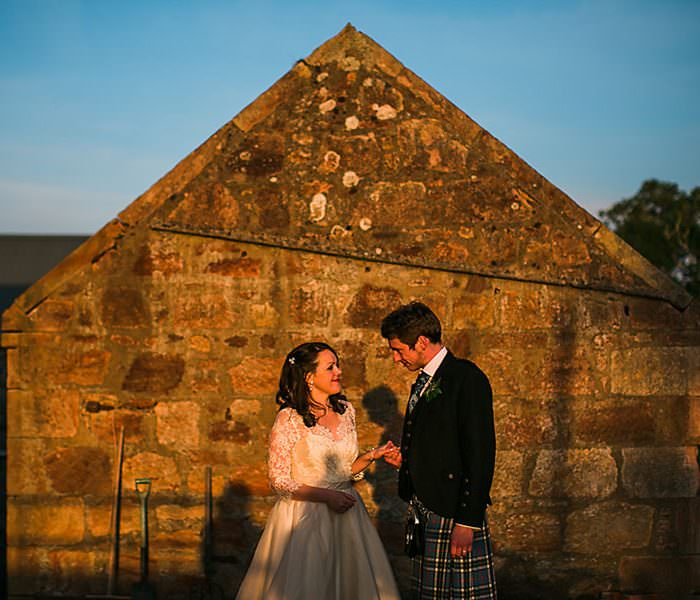 Dalduff Farm Wedding || Candid Ayrshire Wedding Photographer || David & Caitlin: A Preview
