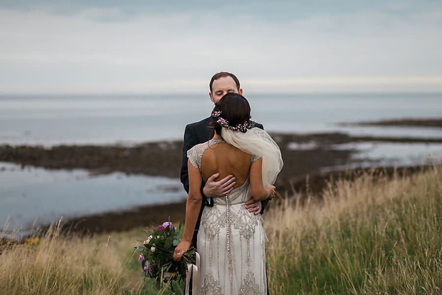 creative wedding photographer scotland