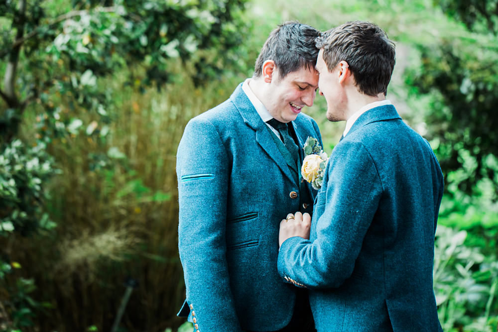 Edinburgh Gay wedding