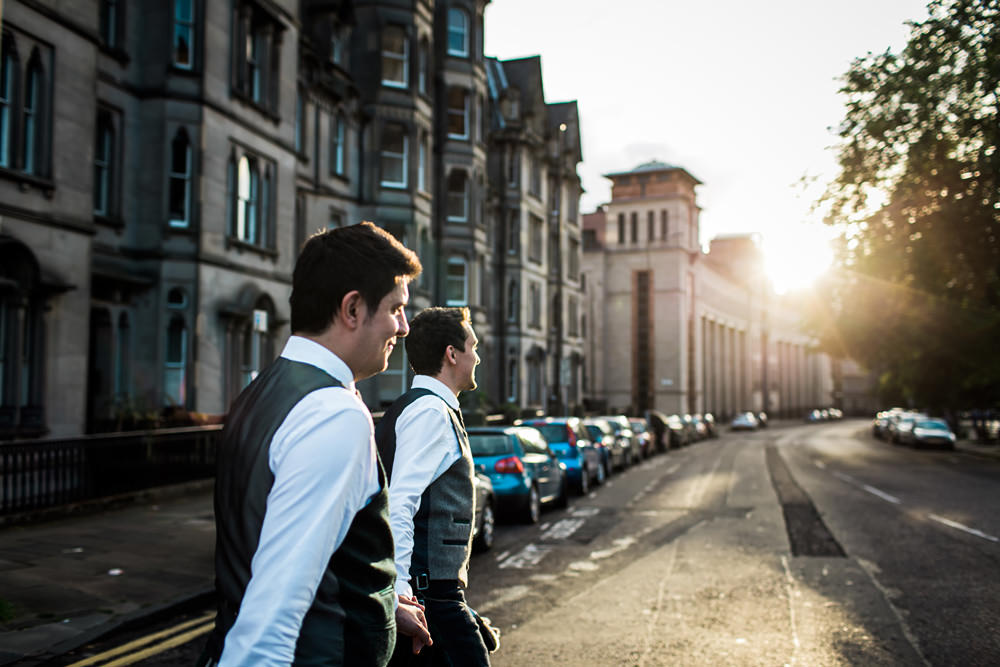LGBTQ wedding Edinburgh