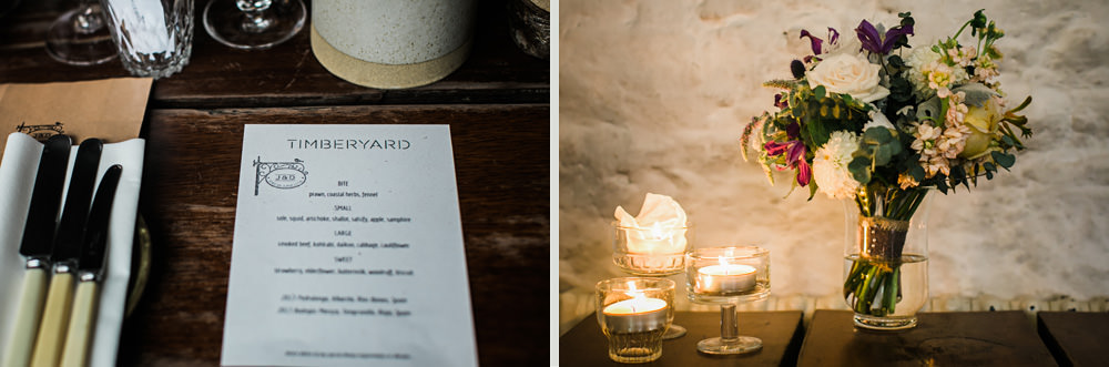 Timberyard Wedding Edinburgh