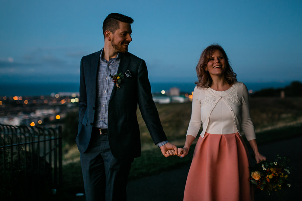 Edinburgh elopement photographer