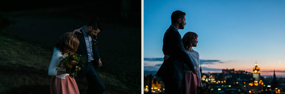 stylish elopement scotland