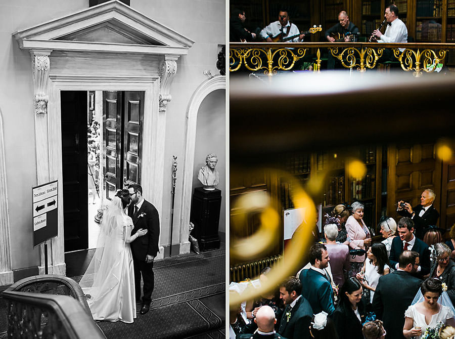 Candid wedding photographers Edinburgh