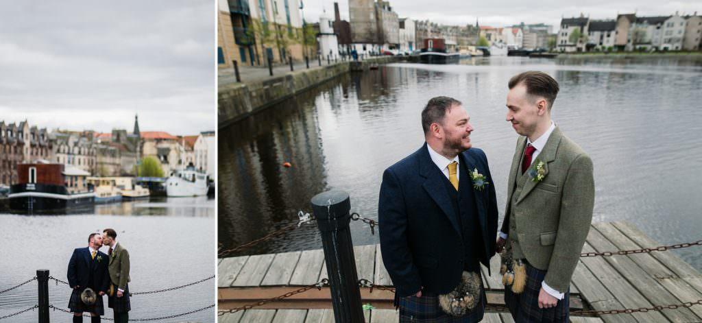Scottish LGBTQ Wedding,