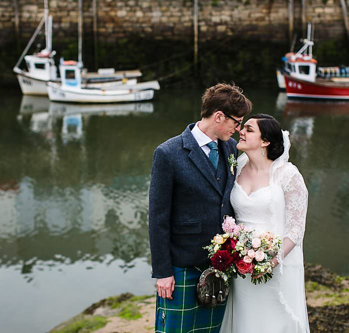 Kinkell Byre Wedding || Candid St Andrews Wedding Photographer || Sophie & Robin: A Preview