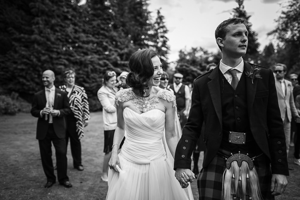 environmentally friendly wedding photographer scotland