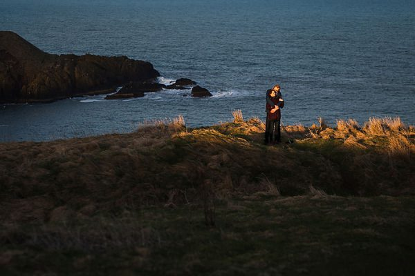 Dunnottar Castle Wedding || Stonehaven Wedding Photographer || Áine & Douglas Engagement