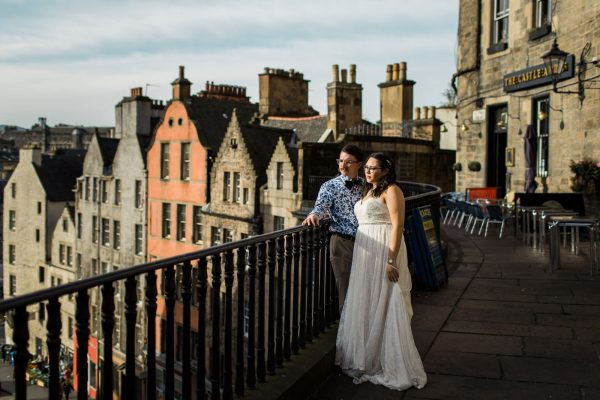 Edinburgh Elopement || Sadie & Keith